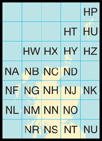Ordnance Survey grid squares